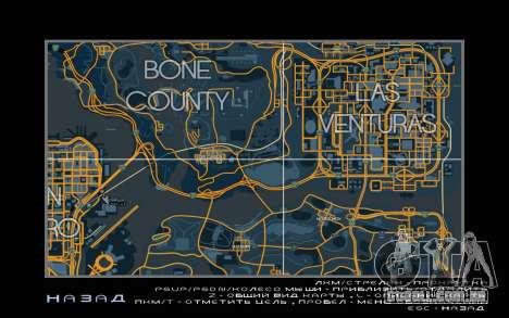 Mapa de corrida estilo de Rastreamento Mapa para GTA San Andreas