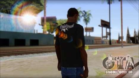 Volcom T-Shirt para GTA San Andreas segunda tela