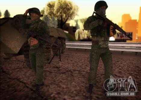 Ataque das forças especiais do interior. para GTA San Andreas terceira tela
