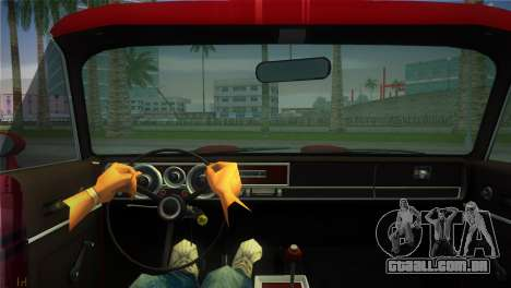 Dodge Dart Demon 340 1971 para GTA Vice City vista direita