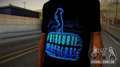 Melbourne Shuffle T-Shirt para GTA San Andreas terceira tela