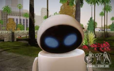 Eve Skin para GTA San Andreas terceira tela