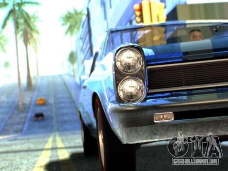 Lime ENB v1.1 para GTA San Andreas sétima tela