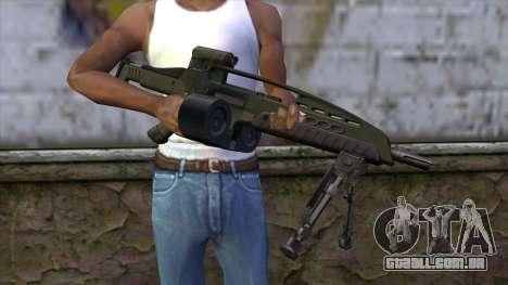 XM8 LMG Olive para GTA San Andreas terceira tela