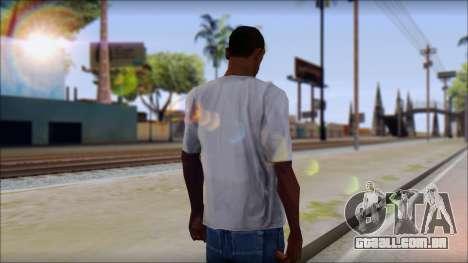 Decepticon T-Shirt para GTA San Andreas segunda tela