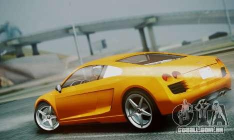 Obey 9F V.1 para GTA San Andreas traseira esquerda vista