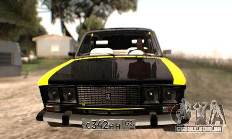 VAZ 2106 para as rodas de GTA San Andreas