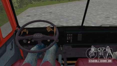 KamAZ 5511 para GTA Vice City vista traseira esquerda