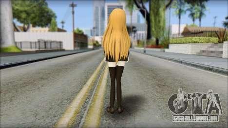 Aisaka Taiga v2 para GTA San Andreas segunda tela