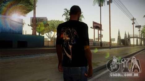 Avenged Sevenfold Reaper Reach T-Shirt para GTA San Andreas segunda tela