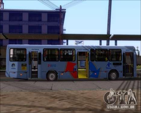 Marcopolo Torino G7 2007 - Volksbus 17-230 EOD para GTA San Andreas vista traseira
