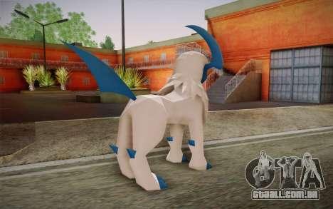 Absol para GTA San Andreas segunda tela