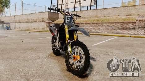 Yamaha YZF-450 v1.2 para GTA 4