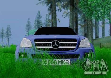 Mercedes-Benz GL500 para GTA San Andreas vista direita