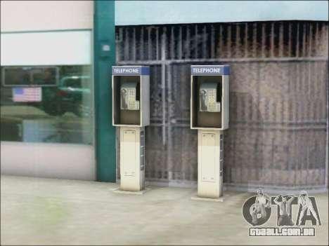 Rua telefone para GTA San Andreas terceira tela