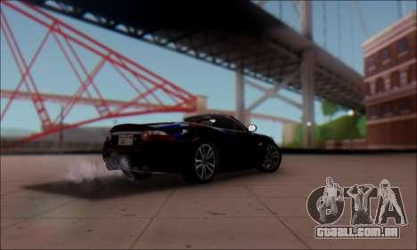Jaguar XK 2007 para GTA San Andreas esquerda vista