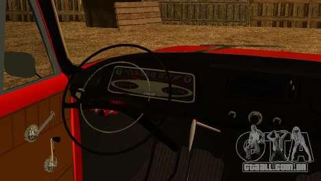Moskvich U para GTA San Andreas vista direita