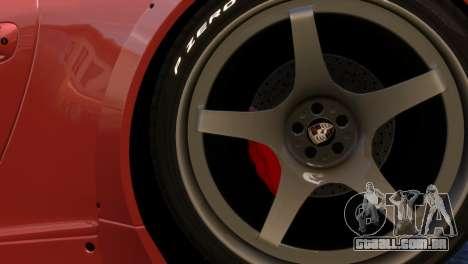 Porsche 911 GT3RSR para GTA 4 vista de volta