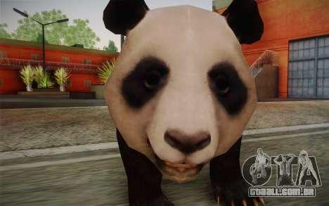 Panda Gigante para GTA San Andreas terceira tela