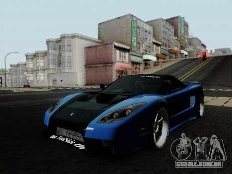 Honda NSX VeilSide para GTA San Andreas