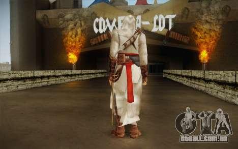 Altair from Assassins Creed para GTA San Andreas segunda tela