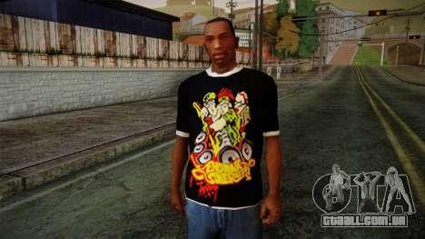 Endank Soekamti T-Shirt para GTA San Andreas