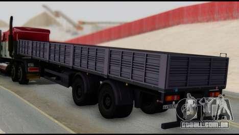 Semi-reboque MAZ 93866 para GTA San Andreas