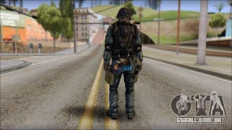 Tactical GIGN from Soldier Front 2 para GTA San Andreas segunda tela