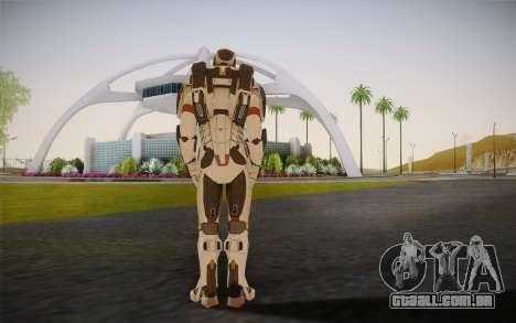 Iron Man Gemini Armor para GTA San Andreas segunda tela