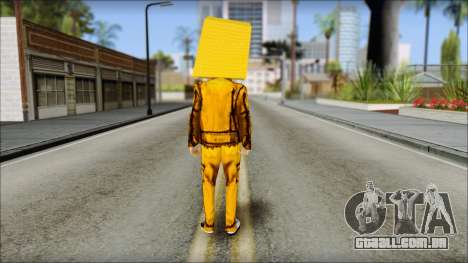 Robot Head LMFAO para GTA San Andreas segunda tela