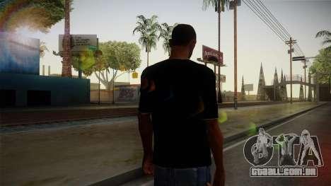Melbourne Shuffle T-Shirt para GTA San Andreas segunda tela