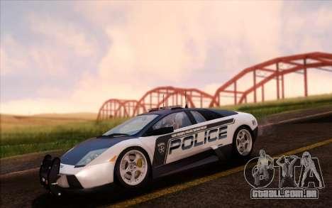 SA Ultimate Graphic Overhaul 1.0 Fix para GTA San Andreas quinto tela