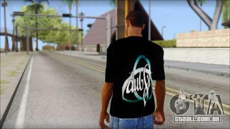 Dub Fx Fan T-Shirt v2 para GTA San Andreas segunda tela