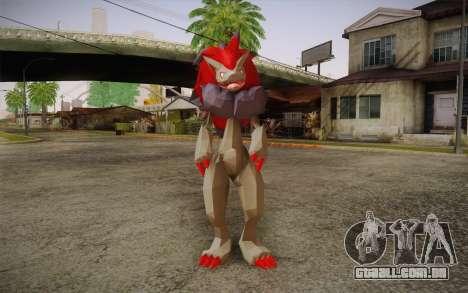 Zoroark from Pokemon para GTA San Andreas