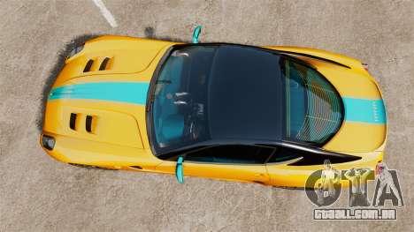 Ferrari 599 GTO PJ2 para GTA 4 vista direita