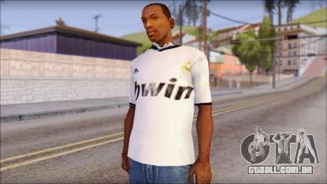 Real Madrid FC Jersey Mod para GTA San Andreas
