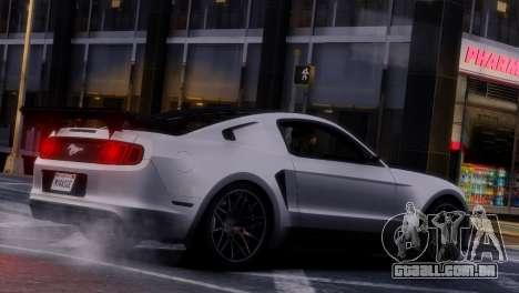 Ford Mustang GT 2014 Custom Kit para GTA 4 vista inferior