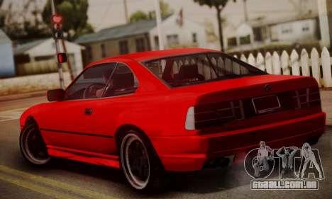 BMW M8 Custom para GTA San Andreas esquerda vista
