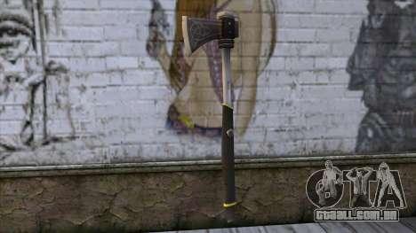 The Woodman Axe para GTA San Andreas