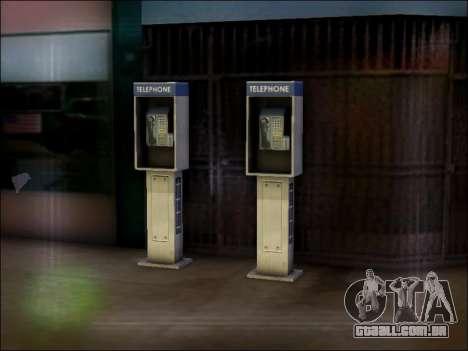 Rua telefone para GTA San Andreas