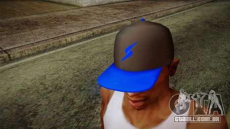 Storm Freerun Cap para GTA San Andreas terceira tela