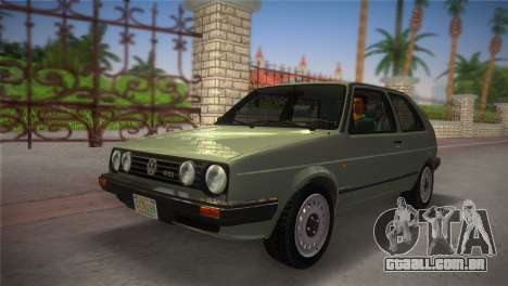Volkswagen Golf II 1991 para GTA Vice City vista direita