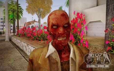 Crimson Zombie Skin para GTA San Andreas terceira tela