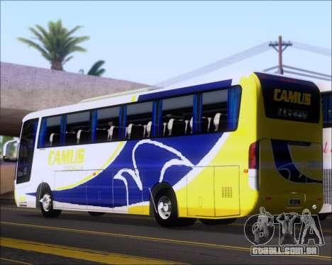 Busscar Vissta Buss LO Mercedes Benz 0-500RS para GTA San Andreas vista direita