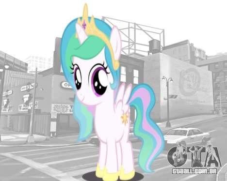 Arranque telas de My Little Pony para GTA 4 quinto tela