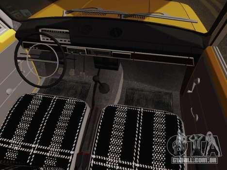 VAZ 2101 de Captação de para vista lateral GTA San Andreas
