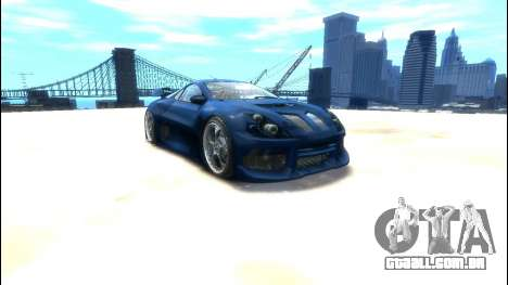 CyborX CD XL-GT para GTA 4 esquerda vista