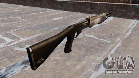 Ружье Franchi SPAS-12 Chrome para GTA 4 segundo screenshot