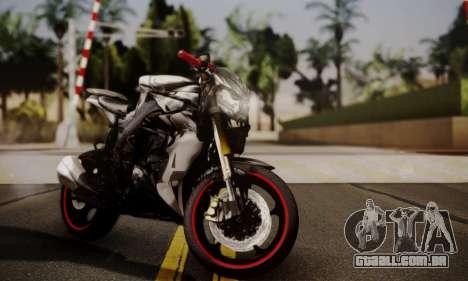Kawasaki Z1000 2014 - The Predator para GTA San Andreas