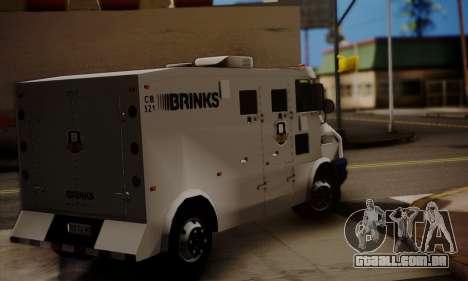 Iveco Daily Brinks para GTA San Andreas esquerda vista